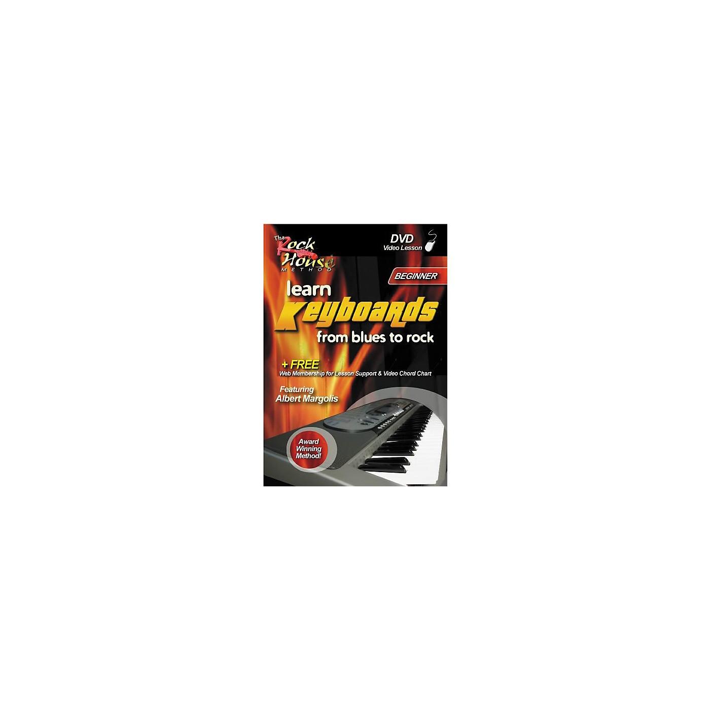 Hal Leonard Learn Keyboards from Blues to Rock - Beginner (DVD) thumbnail
