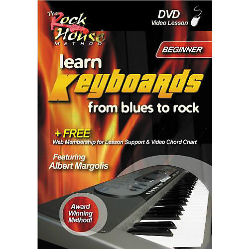 Hal Leonard Learn Keyboards from Blues to Rock - Beginner (DVD)-thumbnail