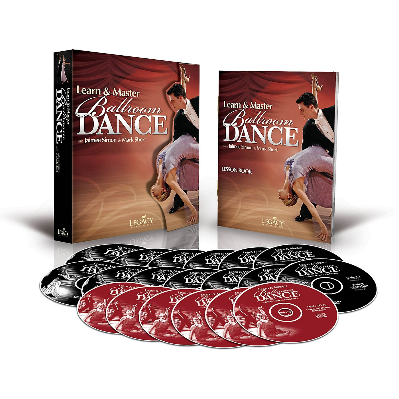 Legacy Learning Learn & Master Ballroom Dancing DVD Series thumbnail