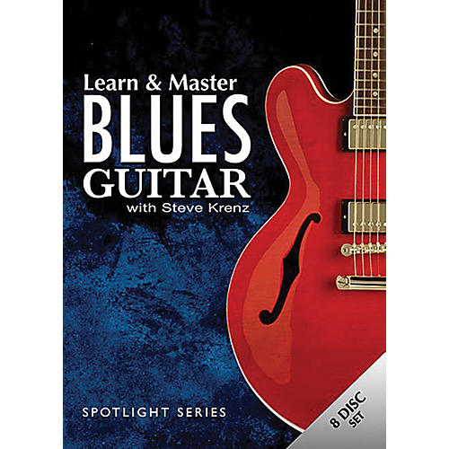 Hal Leonard Learn & Master Blues Guitar (7-DVD/CD) Set thumbnail