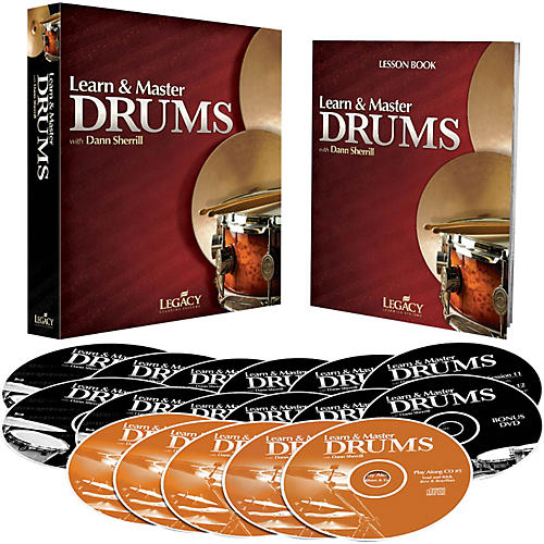 Hal Leonard Learn & Master Drums (Book/DVD/CD) thumbnail
