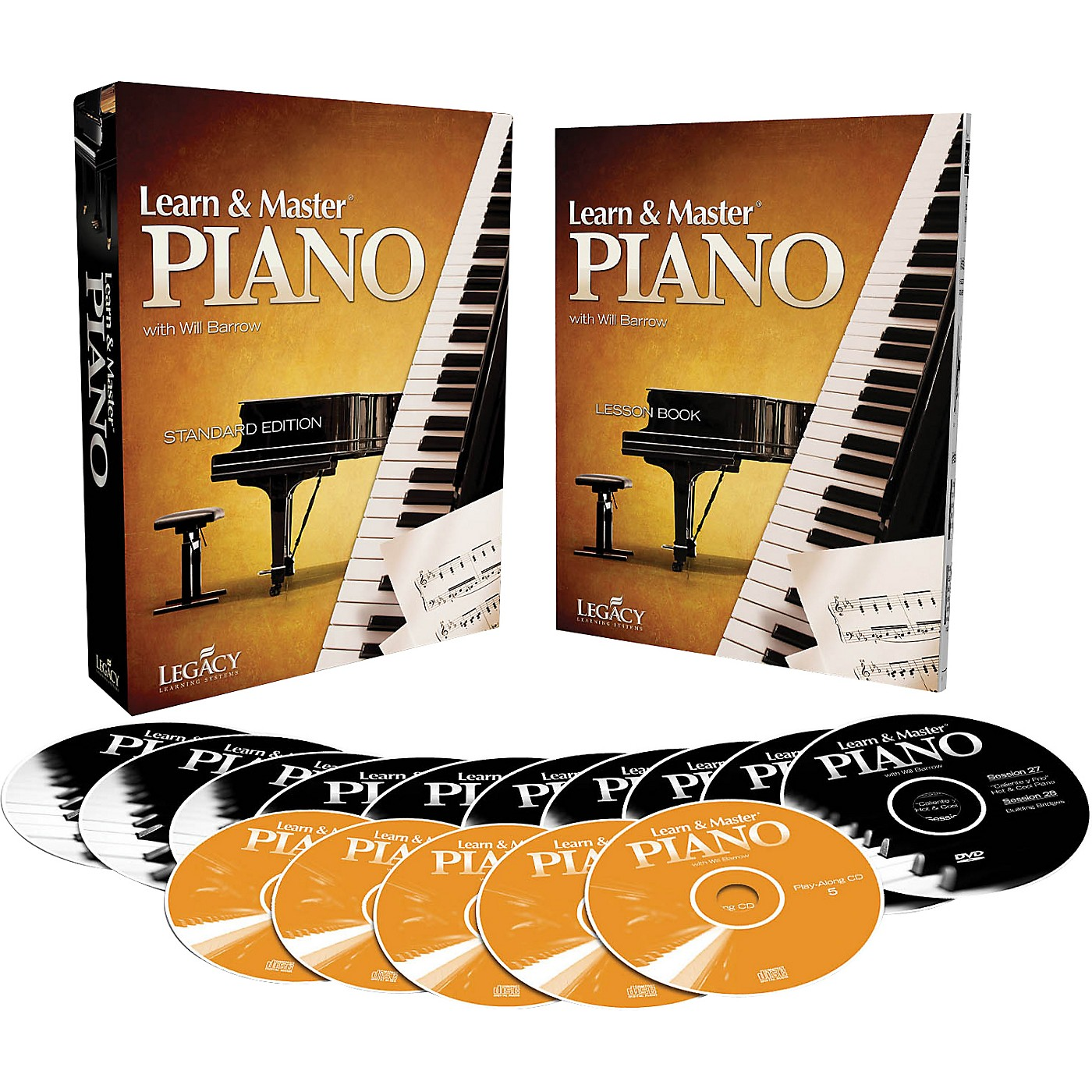 Hal Leonard Learn & Master Piano DVD/CD/Book Pack Legacy Of Learning Series thumbnail