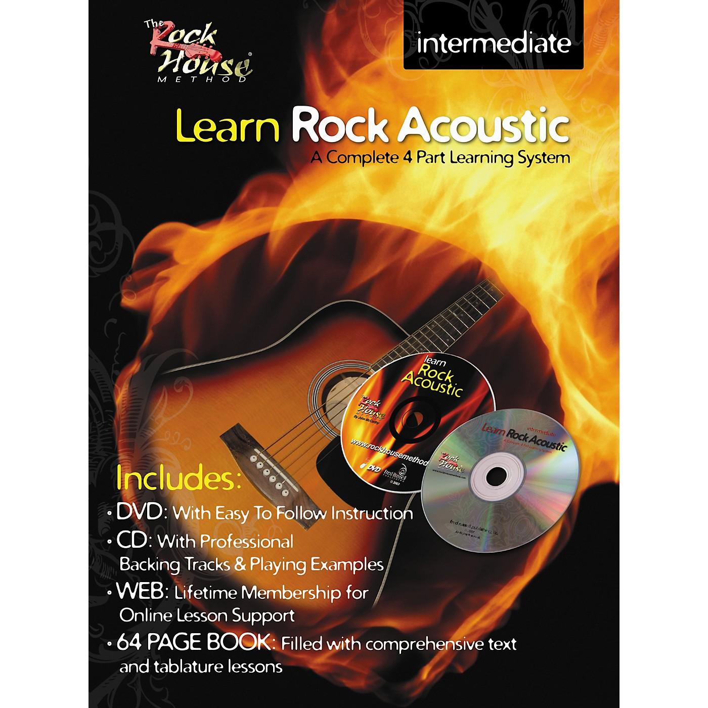 Hal Leonard Learn Rock Acoustic Intermediate Book/DVD/CD Combo thumbnail