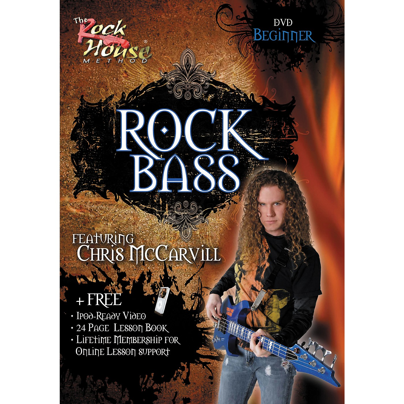 Hal Leonard Learn Rock Bass Beginner DVD thumbnail
