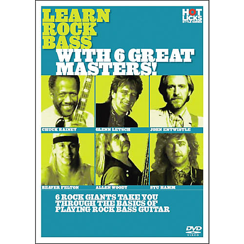 Hot Licks Learn Rock Bass with 6 Great Masters DVD-thumbnail