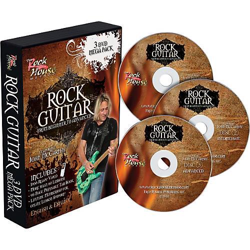 Rock House Learn Rock Guitar: Beginner, Intermediate, and Advanced (3-DVD package) thumbnail