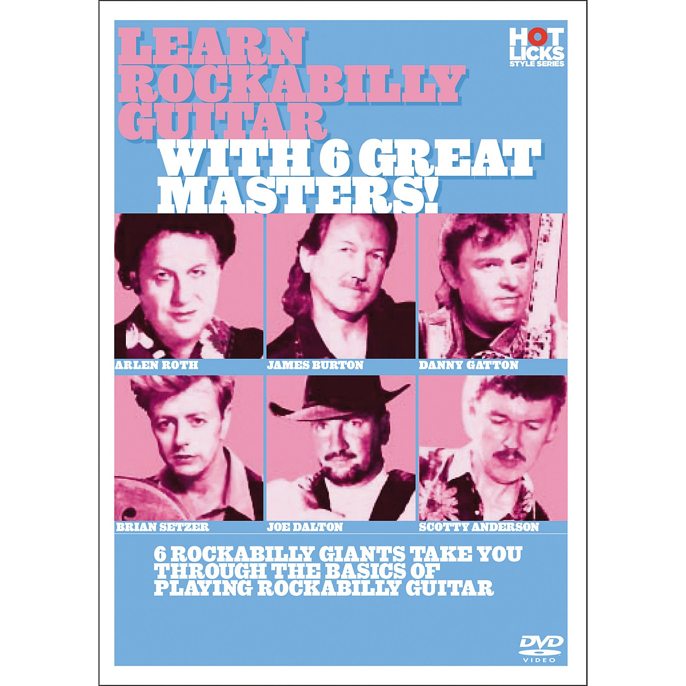 Hot Licks Learn Rockabilly Guitar with 6 Great Masters DVD thumbnail