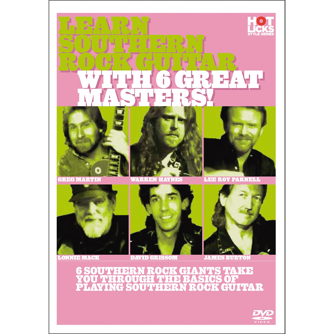 Hot Licks Learn Southern Rock Guitar with 6 great Masters thumbnail