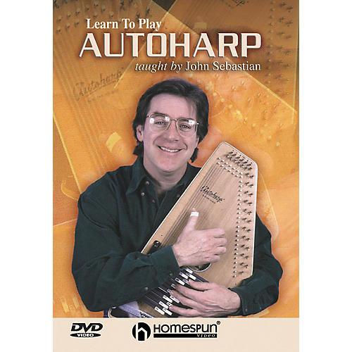 Homespun Learn To Play Autoharp (DVD) thumbnail