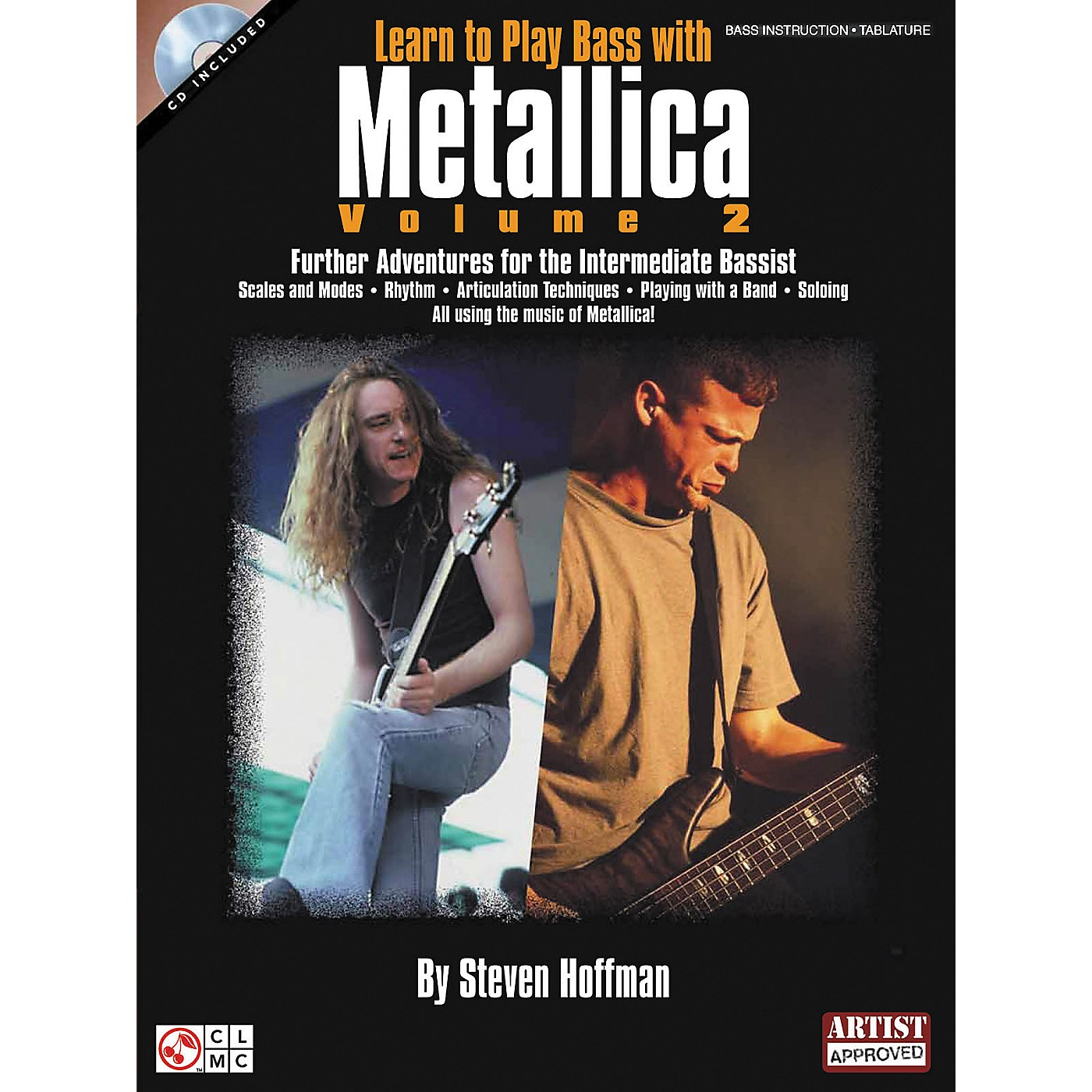 Hal Leonard Learn To Play Bass with Metallica Volume 2 Book with CD thumbnail