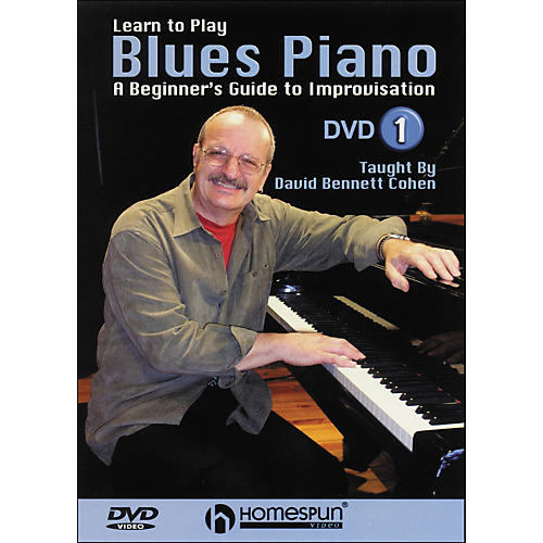 Homespun Learn To Play Blues Piano Lesson One DVD thumbnail