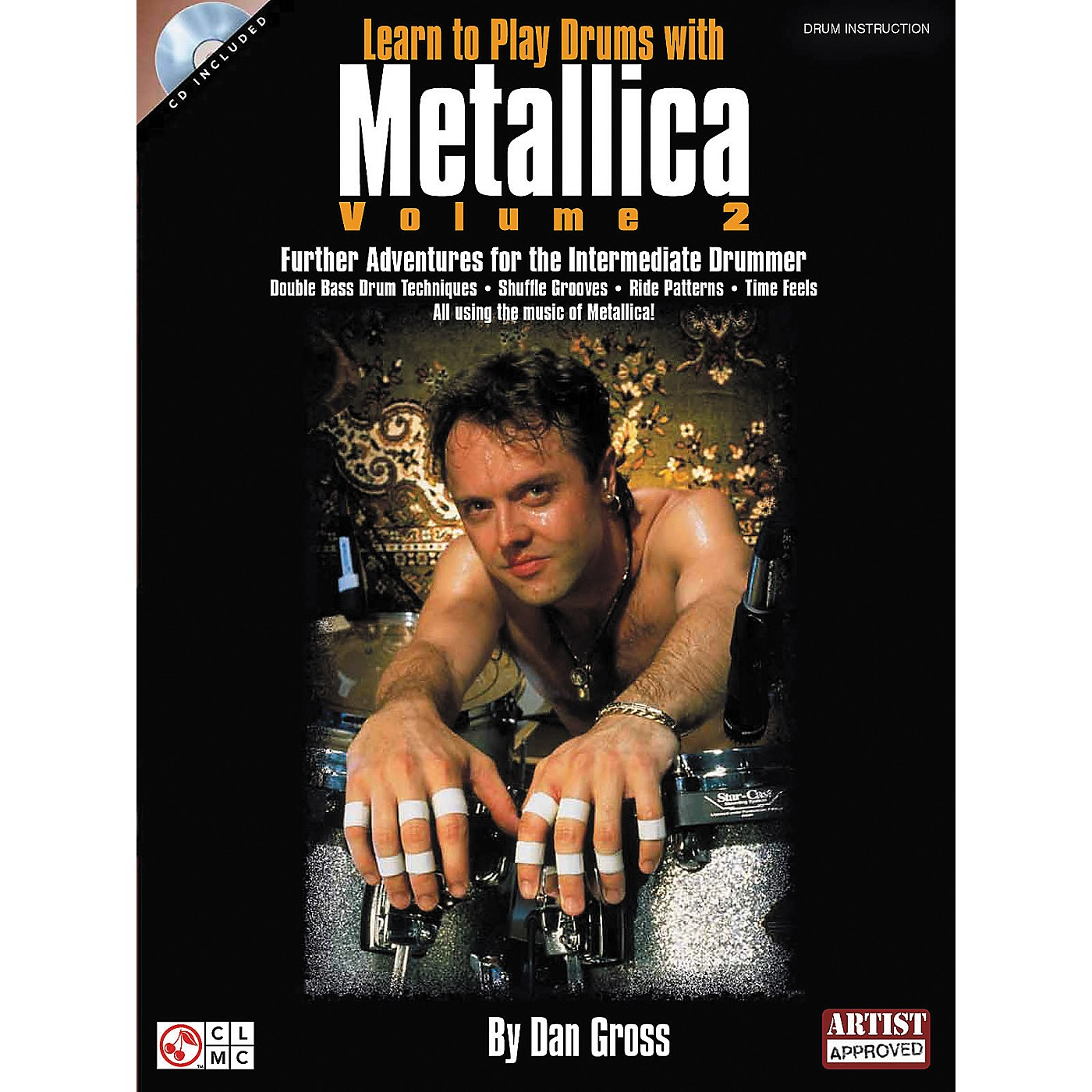 Hal Leonard Learn To Play Drums With Metallica Book and CD - Volume 2 thumbnail