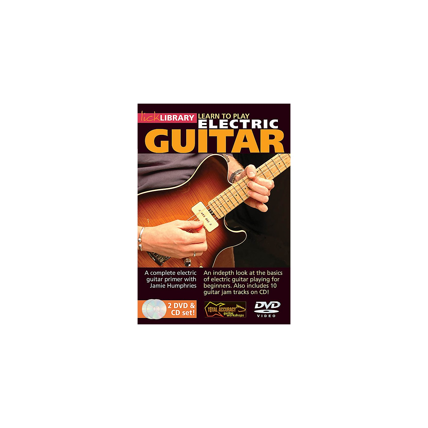 Hal Leonard Learn To Play Electric Guitar - Lick Library Series (DVD) thumbnail