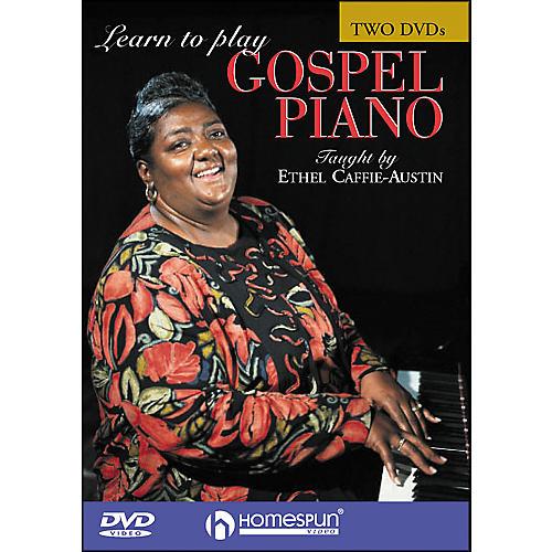 Homespun Learn To Play Gospel Piano 2 DVD Set thumbnail