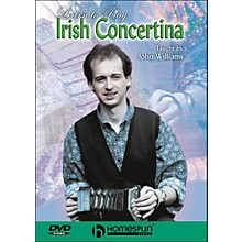 Homespun Learn To Play Irish Concertina (DVD)