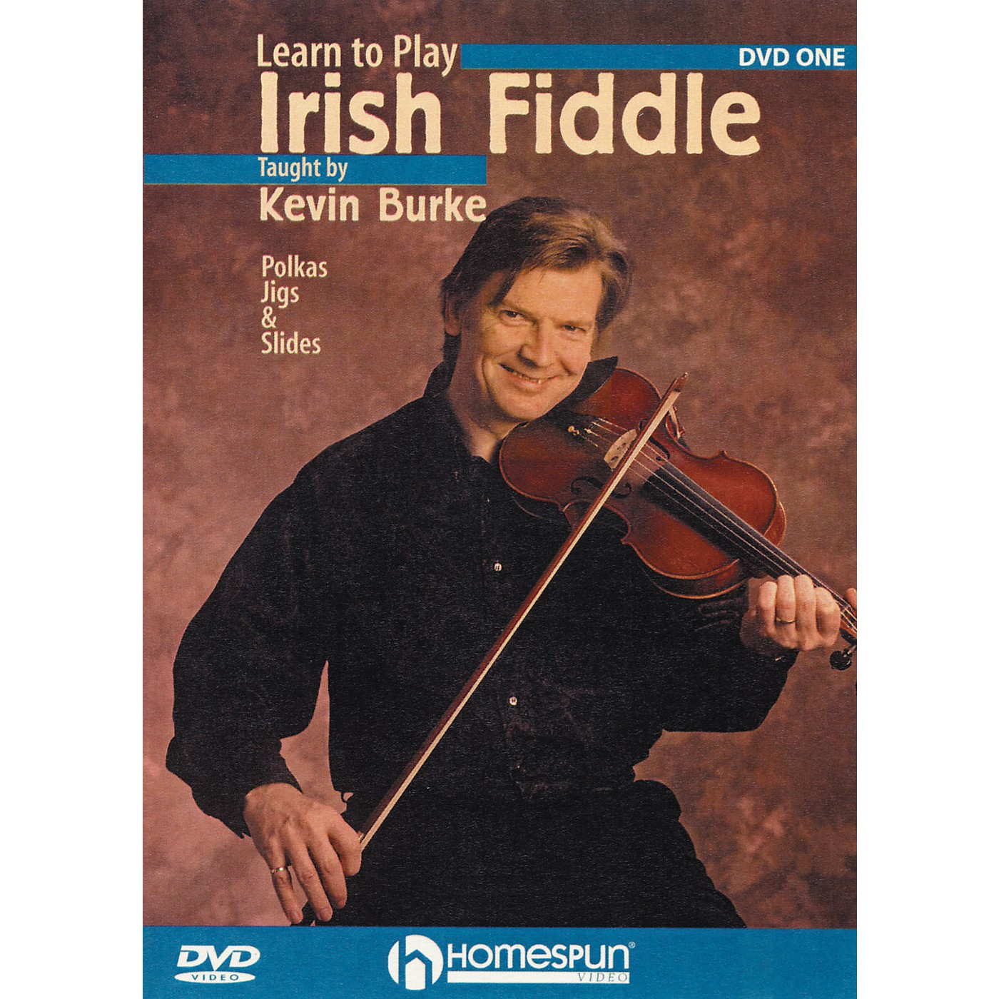 Homespun Learn To Play Irish Fiddle Lesson One (DVD) thumbnail