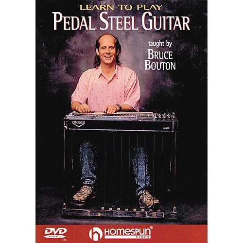 Homespun Learn To Play Pedal Steel Guitar (DVD)-thumbnail