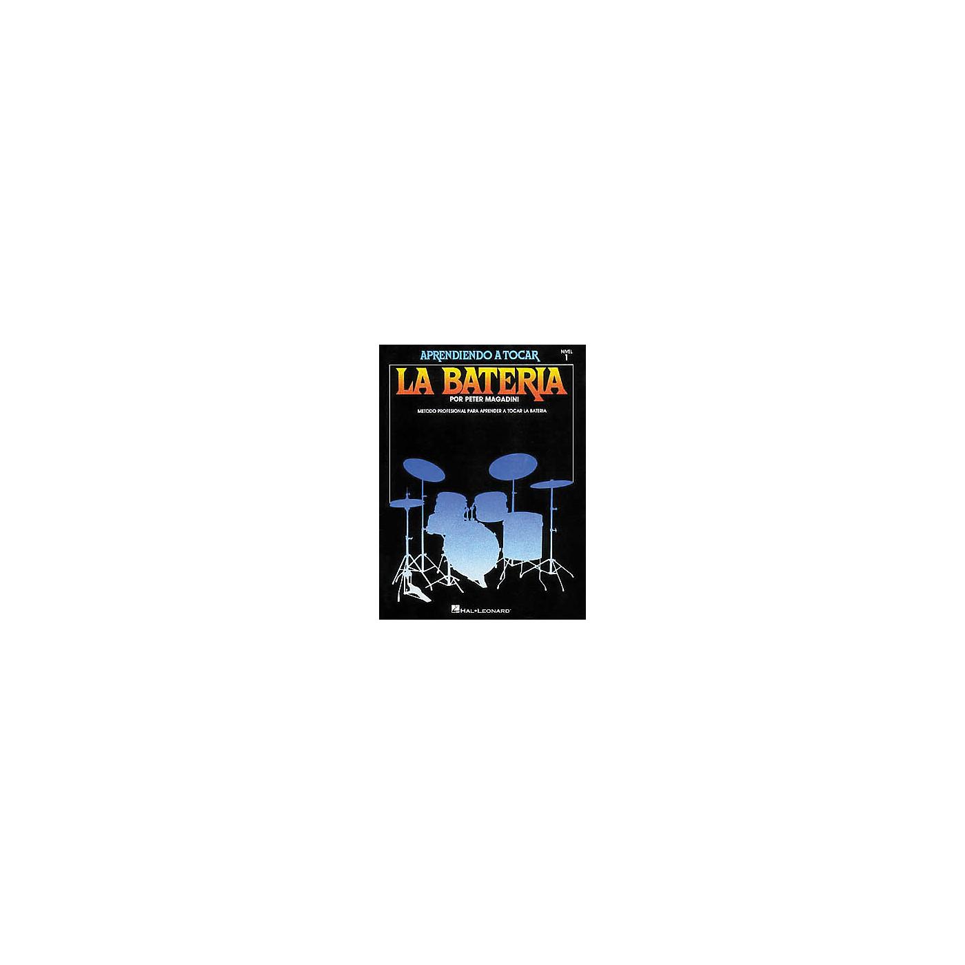 Hal Leonard Learn To Play The Drum Set/Aprendiendo a Tocar La Bateria Nivel 1 Spanish thumbnail