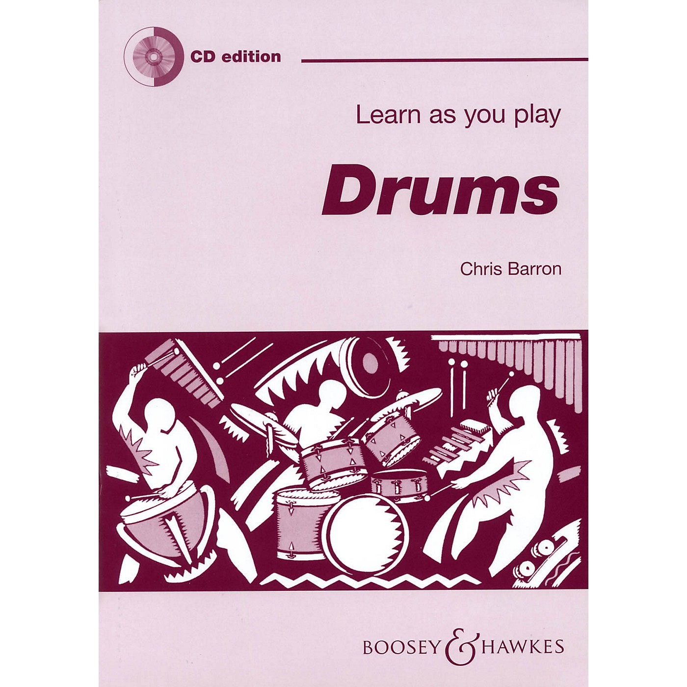Boosey and Hawkes Learn as You Play Drums Boosey & Hawkes Chamber Music Series Softcover with CD thumbnail