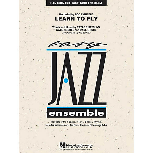 Hal Leonard Learn to Fly Jazz Band Level 2 by Foo Fighters Arranged by John Berry thumbnail