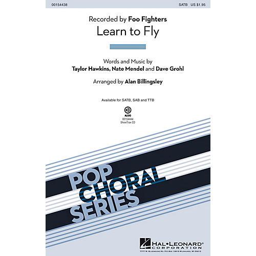 Hal Leonard Learn to Fly SATB by Foo Fighters arranged by Alan Billingsley thumbnail