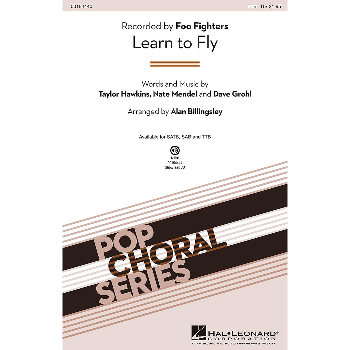 Hal Leonard Learn to Fly TTB by Foo Fighters arranged by Alan Billingsley thumbnail