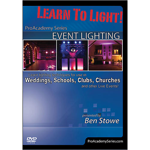 Alfred Learn to Light Pro Academy Series Event Lighting DVD-thumbnail