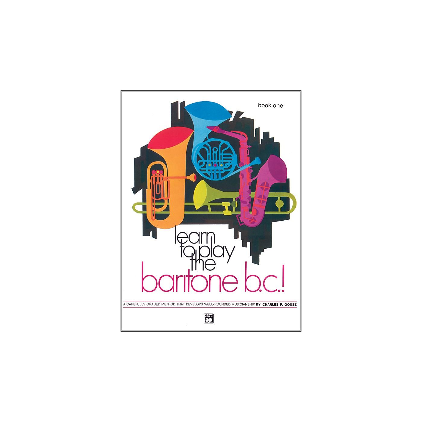 Alfred Learn to Play Baritone B.C.! Book 1 thumbnail