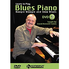Homespun Learn to Play Blues Piano Homespun Tapes Series DVD Performed by David Bennett Cohen