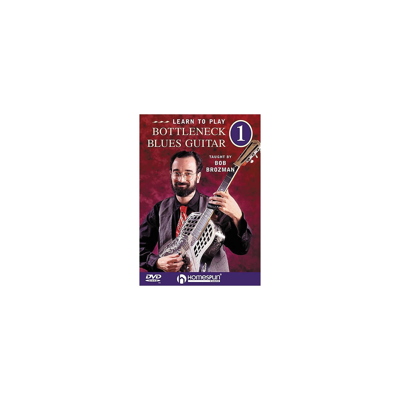 Homespun Learn to Play Bottleneck Blues Guitar (DVD) thumbnail