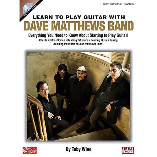 Cherry Lane Learn to Play Guitar with Dave Matthews Band Instructional Series Softcover with CD Written by Toby Wine thumbnail