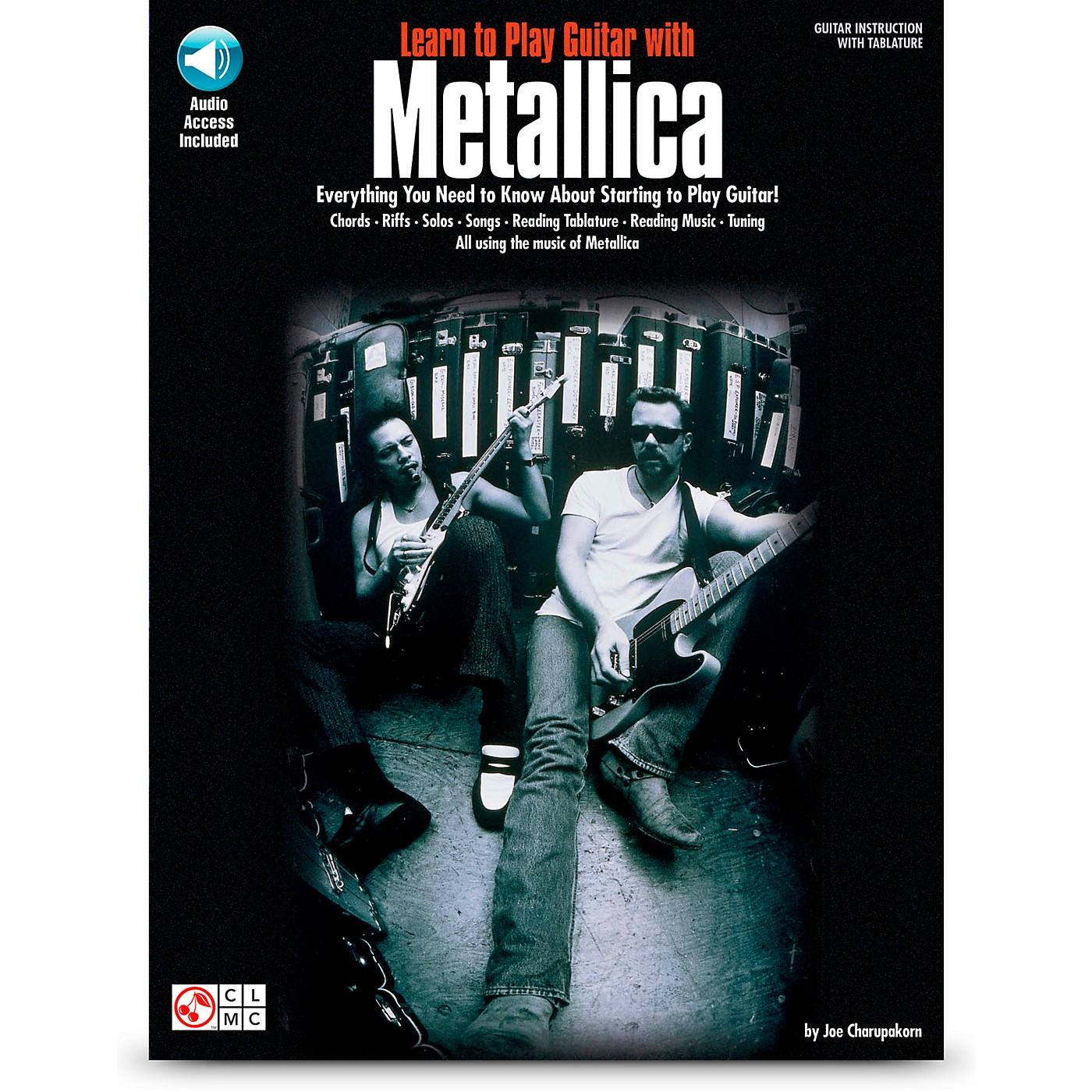 Hal Leonard Learn to Play Guitar with Metallica Book/CD thumbnail