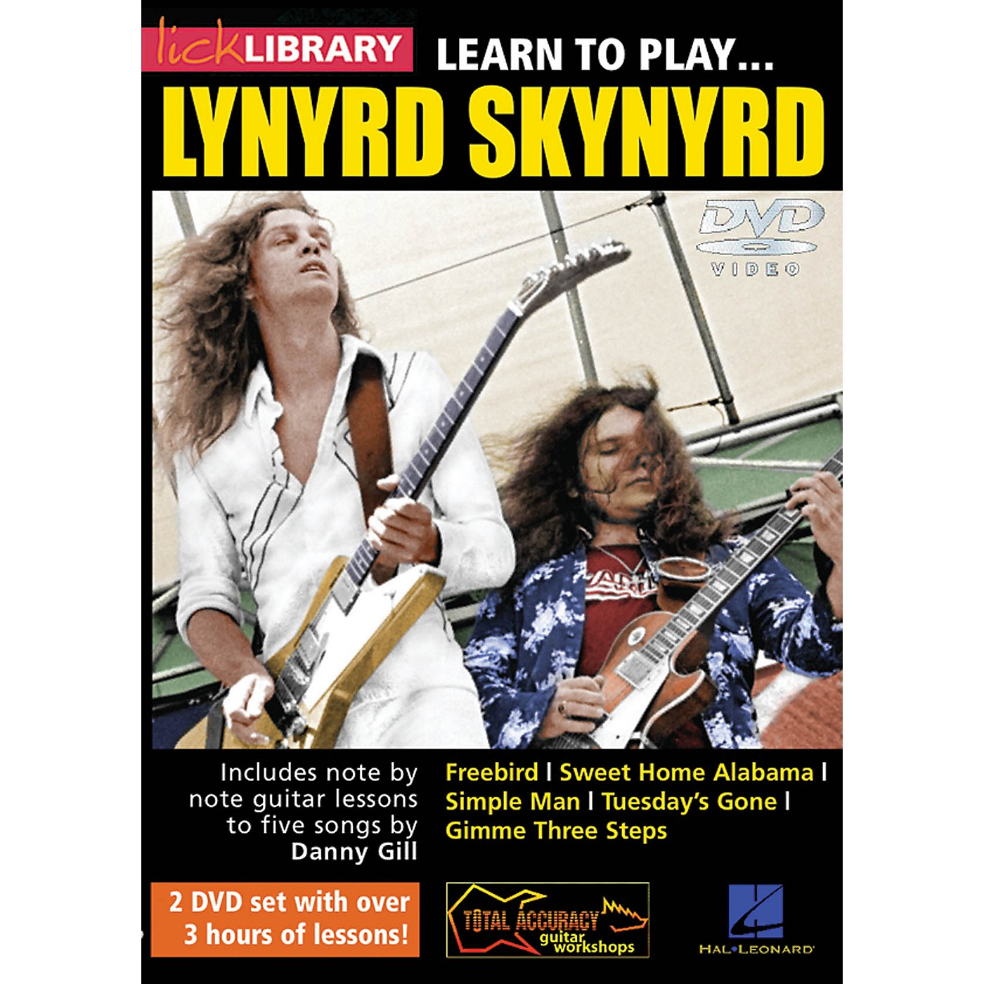 Licklibrary Learn to Play Lynyrd Skynyrd Lick Library Series DVD Written by Danny Gill thumbnail