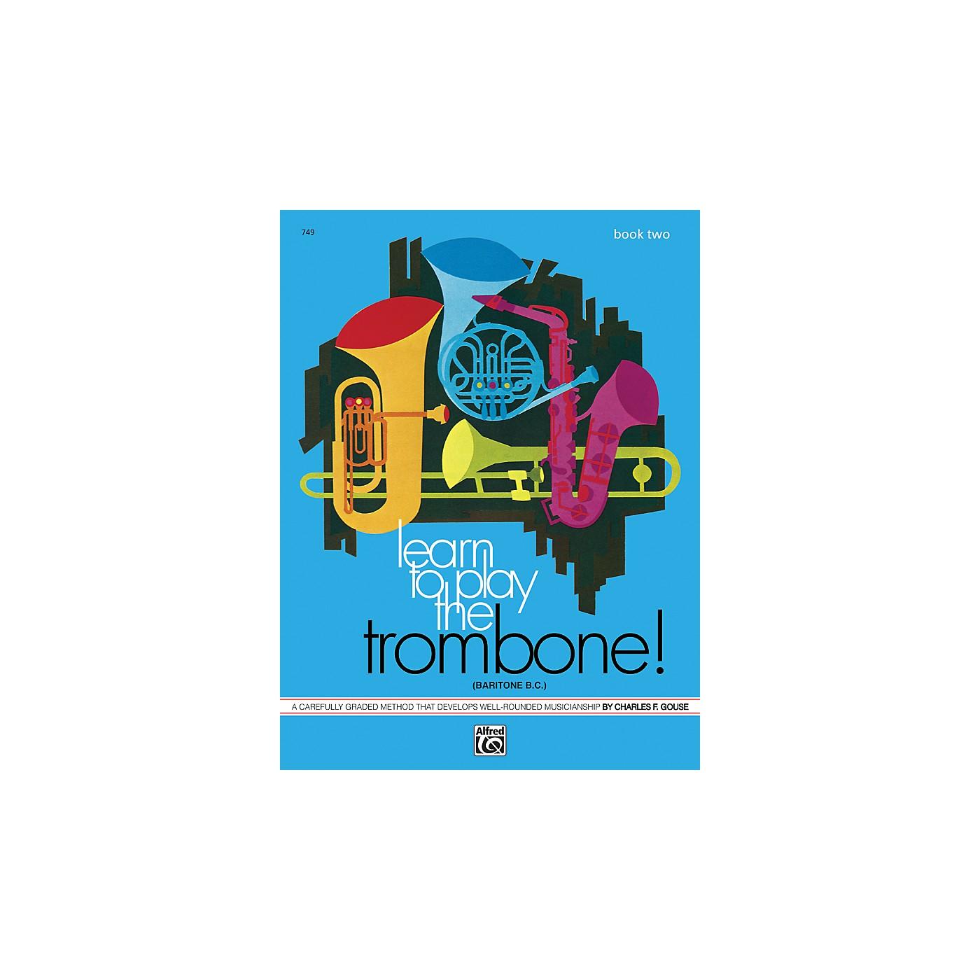 Alfred Learn to Play Trombone Baritone B.C.! Book 2 thumbnail