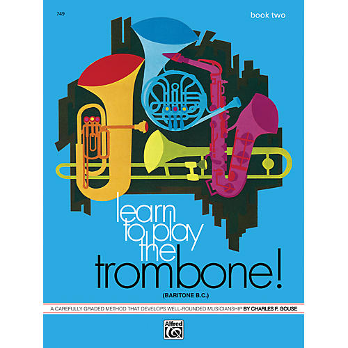 Alfred Learn to Play Trombone Baritone B.C.! Book 2-thumbnail