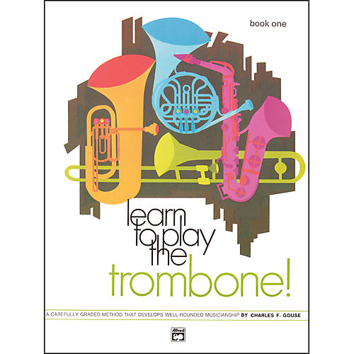 Alfred Learn to Play Trombone! Book 1 thumbnail