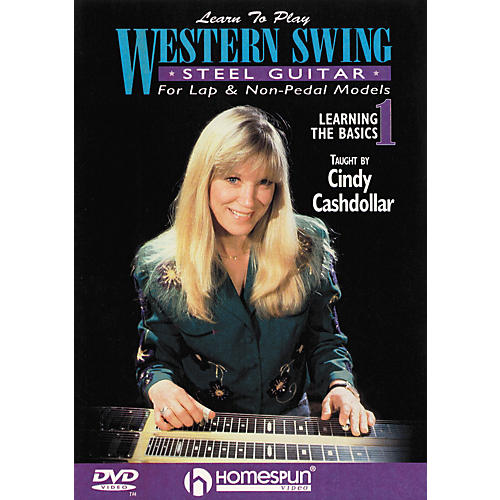 Homespun Learn to Play Western Swing Steel Guitar Lesson 1 Learning the Basics (DVD) thumbnail