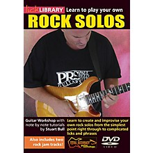 Licklibrary Learn to Play Your Own Rock Solos Lick Library Series DVD Performed by Stuart Bull