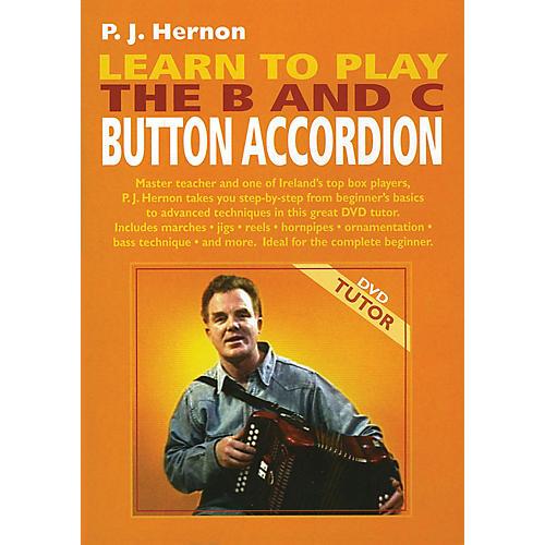 Waltons Learn to Play the B and C Button Accordion Waltons Irish Music Dvd Series DVD Written by P.J. Hernon thumbnail