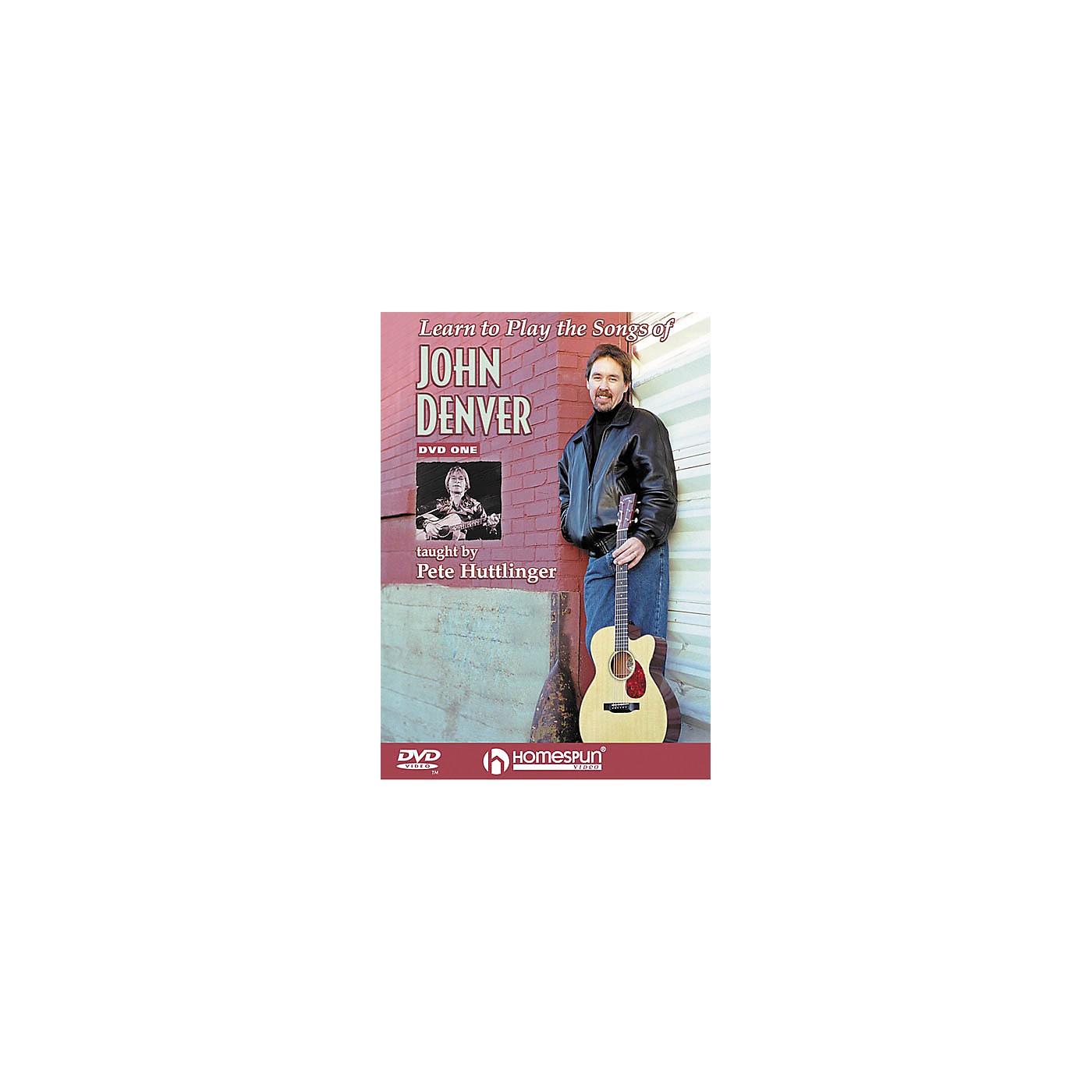 Homespun Learn to Play the Songs of John Denver - Level 2 (DVD) thumbnail