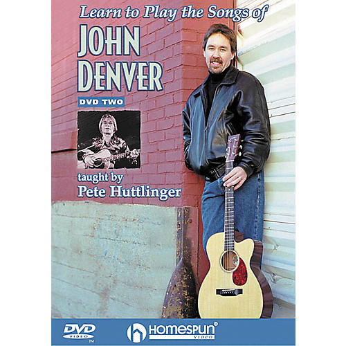 Homespun Learn to Play the Songs of John Denver - Level 3 (DVD)-thumbnail