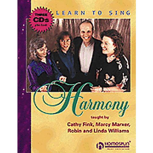 Hal Leonard Learn to Sing Harmony CD thumbnail