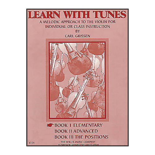 Willis Music Learn with Tunes Book 1 Elementary for Violin thumbnail