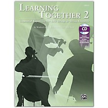 Suzuki Learning Together 2 Cello Book & CD