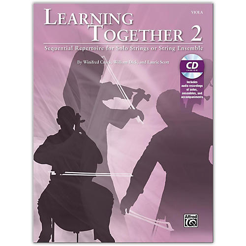 Suzuki Learning Together 2 Viola Book & CD thumbnail