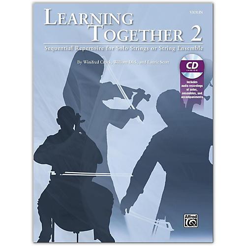 Suzuki Learning Together 2 Violin Book & CD thumbnail