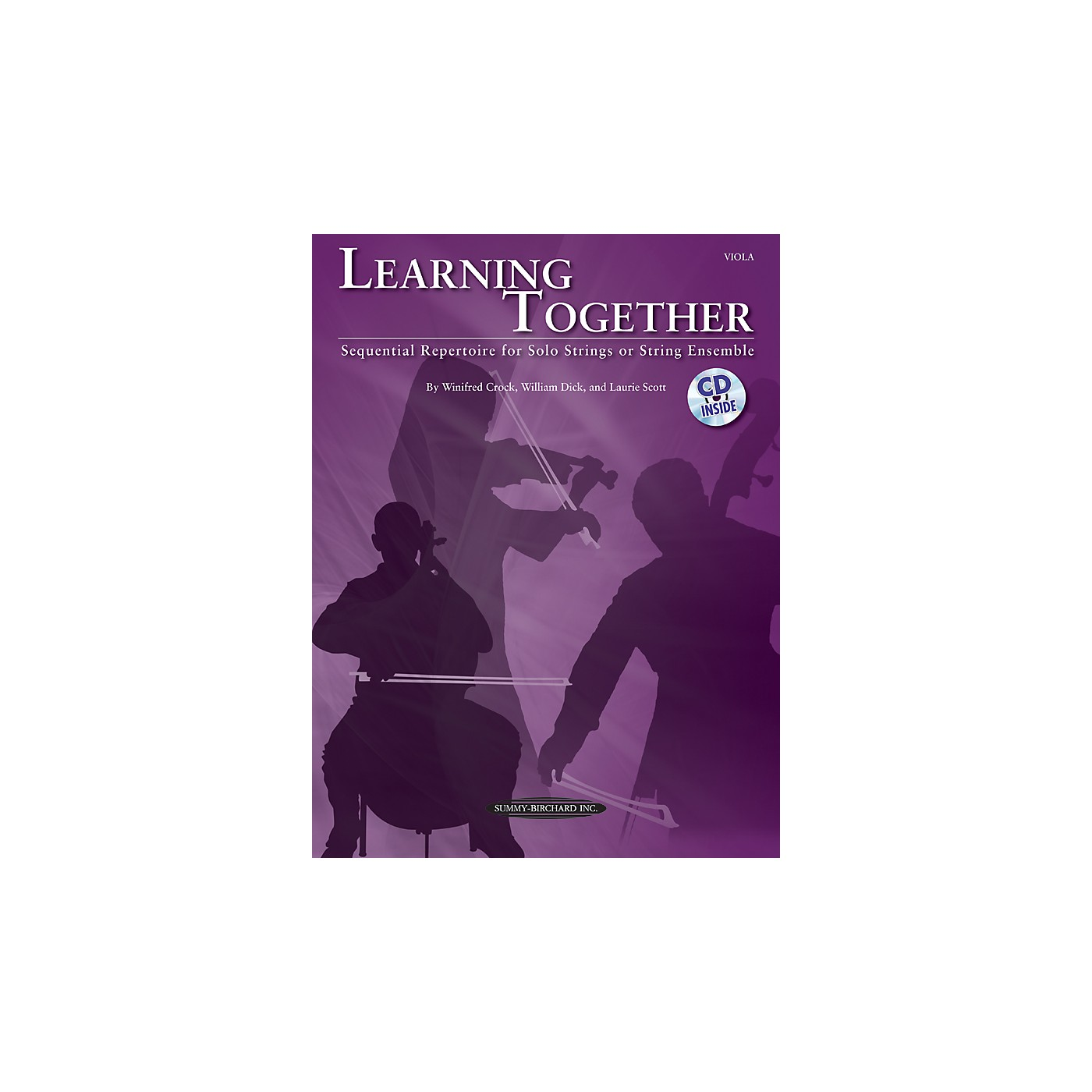 Summy-Birchard Learning Together for Viola (Book/CD) thumbnail