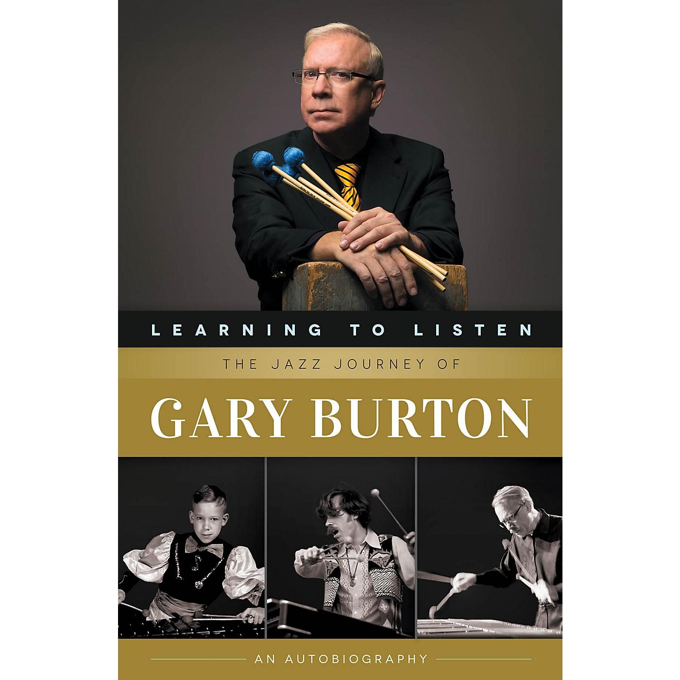 Berklee Press Learning to Listen: The Jazz Journey of Gary Burton Berklee Press Series Softcover Written by Gary Burton thumbnail