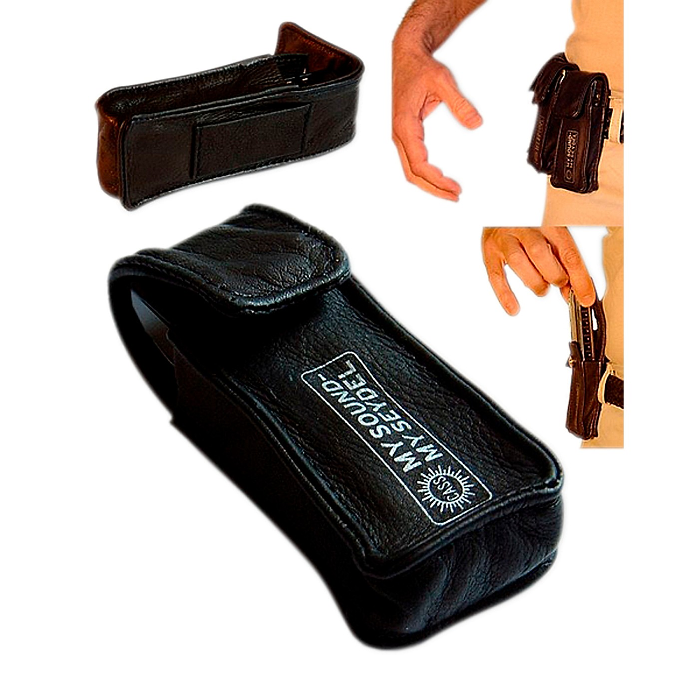 SEYDEL Leather BELT BAG for 1 Blues Harmonica thumbnail