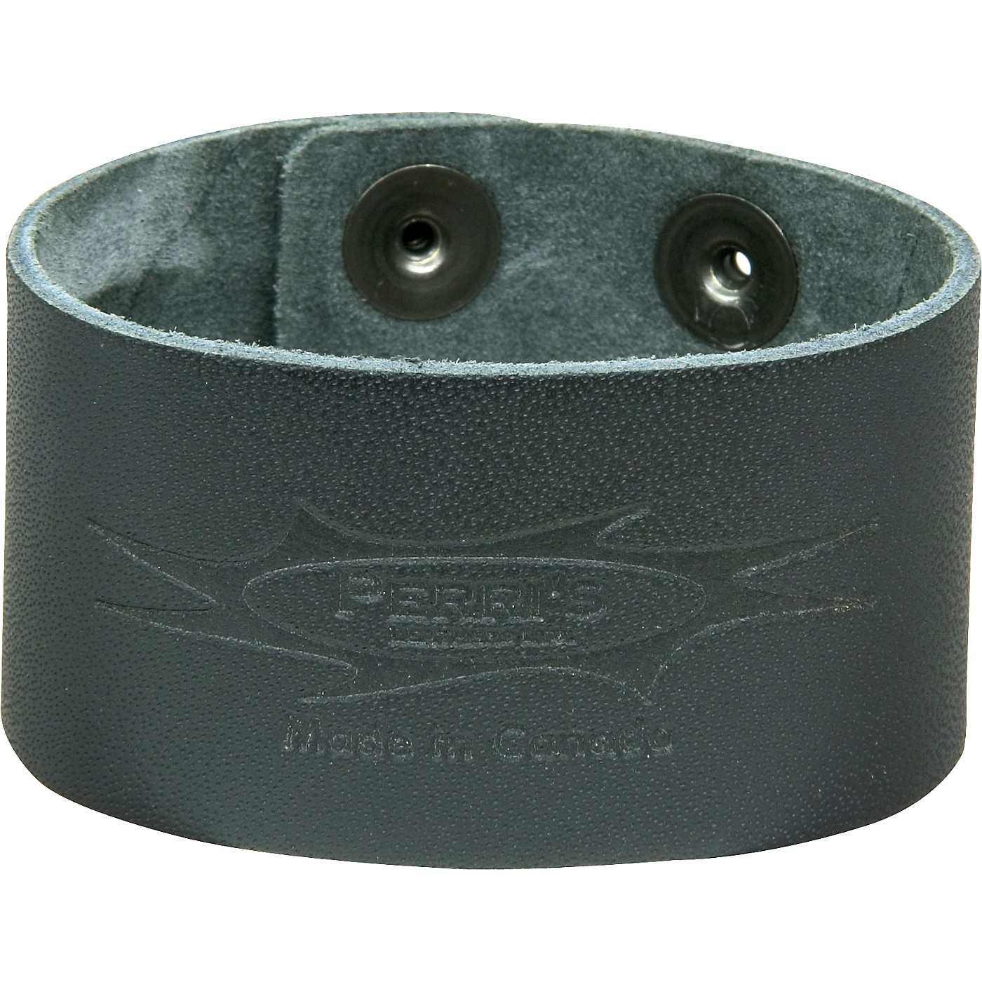 Perri's Leather Bracelet with Perri's Logo thumbnail